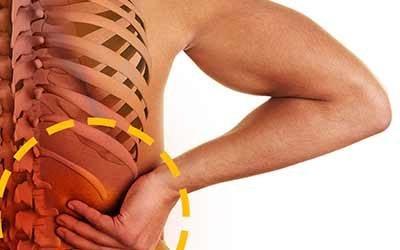 Dolor de espalda baja de un lado
